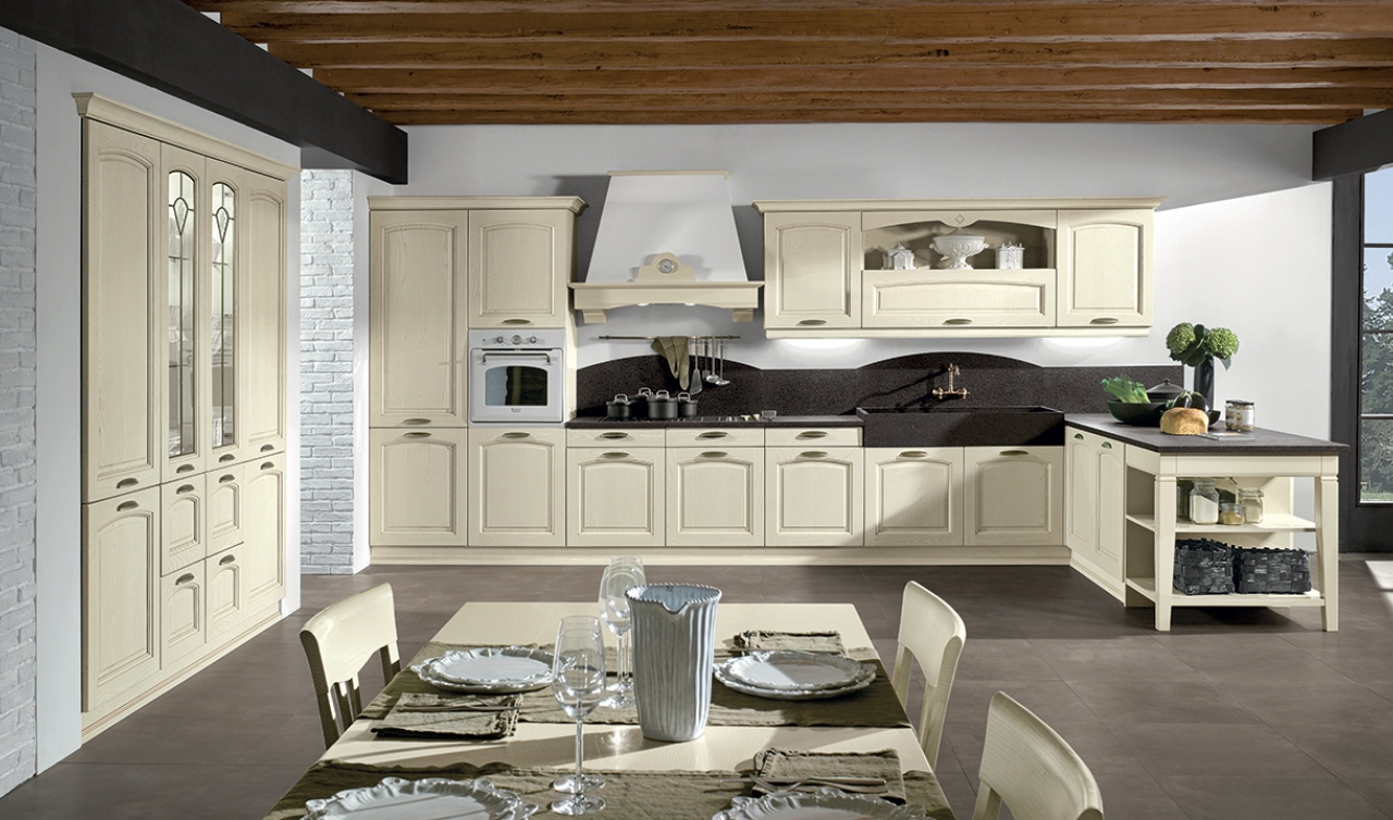 Classic Kitchen Arredo3 Emma Model 01