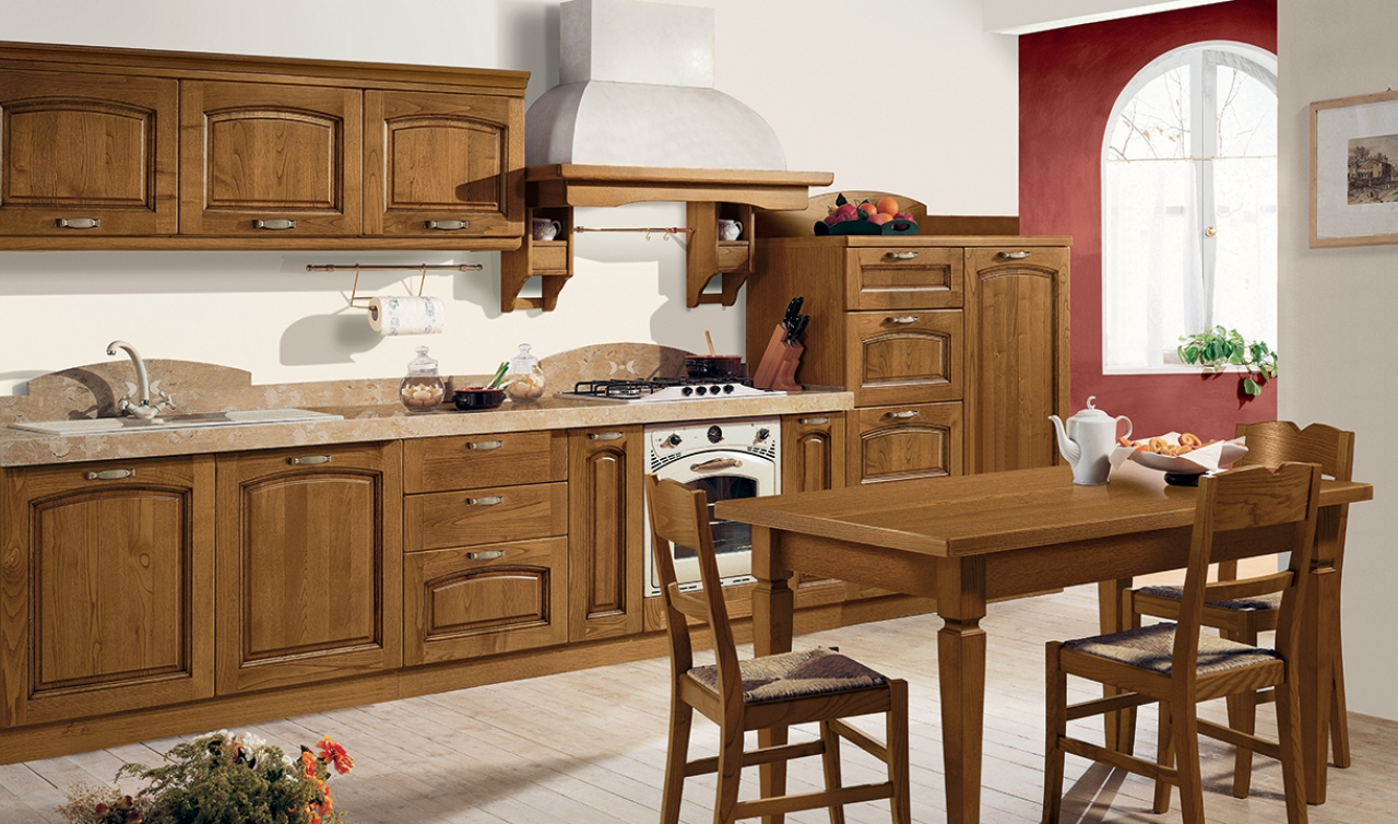 Classic Kitchen Arredo3 Emma Model 04 - 01