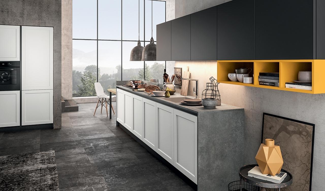 Modern Kitchen Arredo3 Frame Model 01 - 02