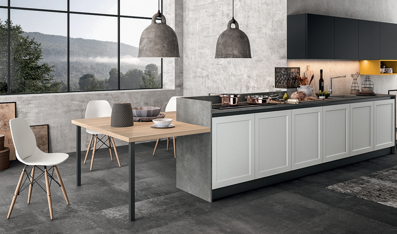 Modern Kitchen Arredo3 Frame Model 01 - 03
