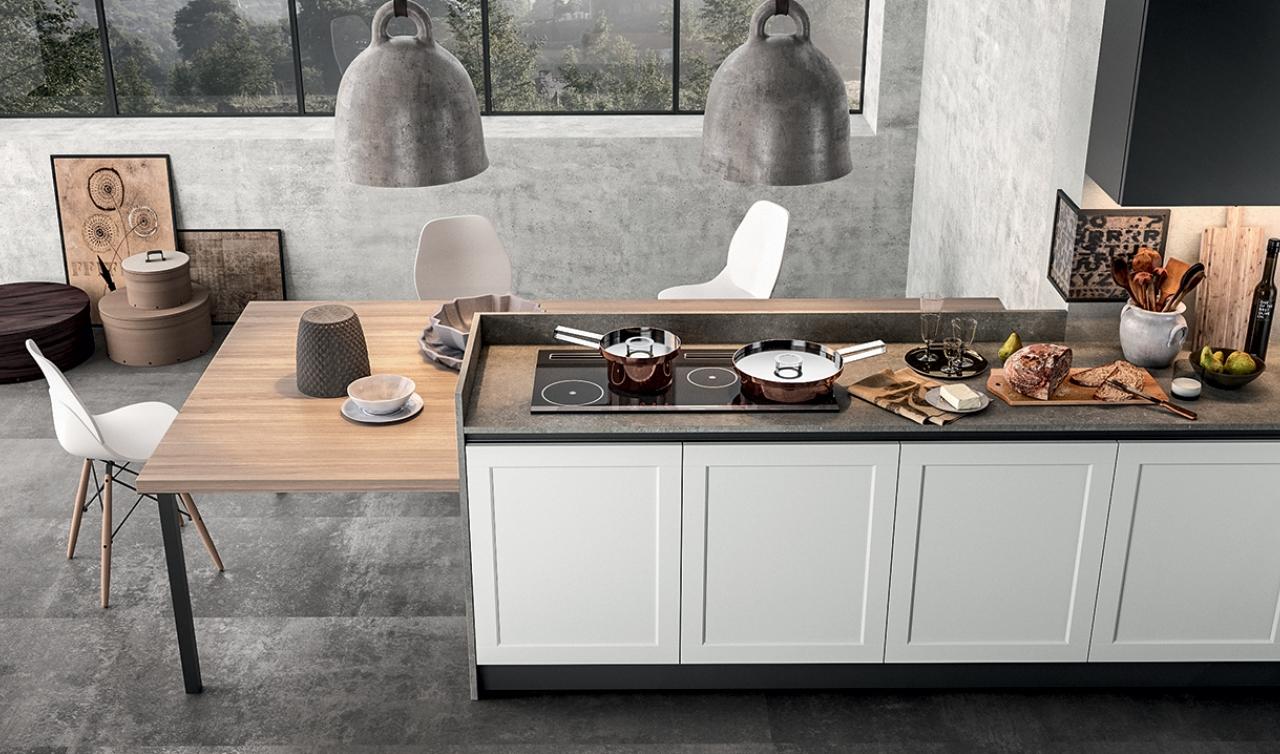 Modern Kitchen Arredo3 Frame Model 01 - 04