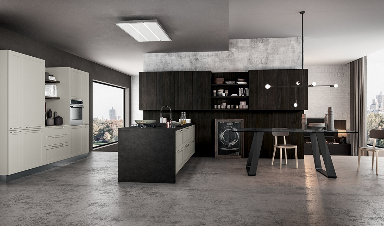 Modern Kitchen Arredo3 Frame Model 02