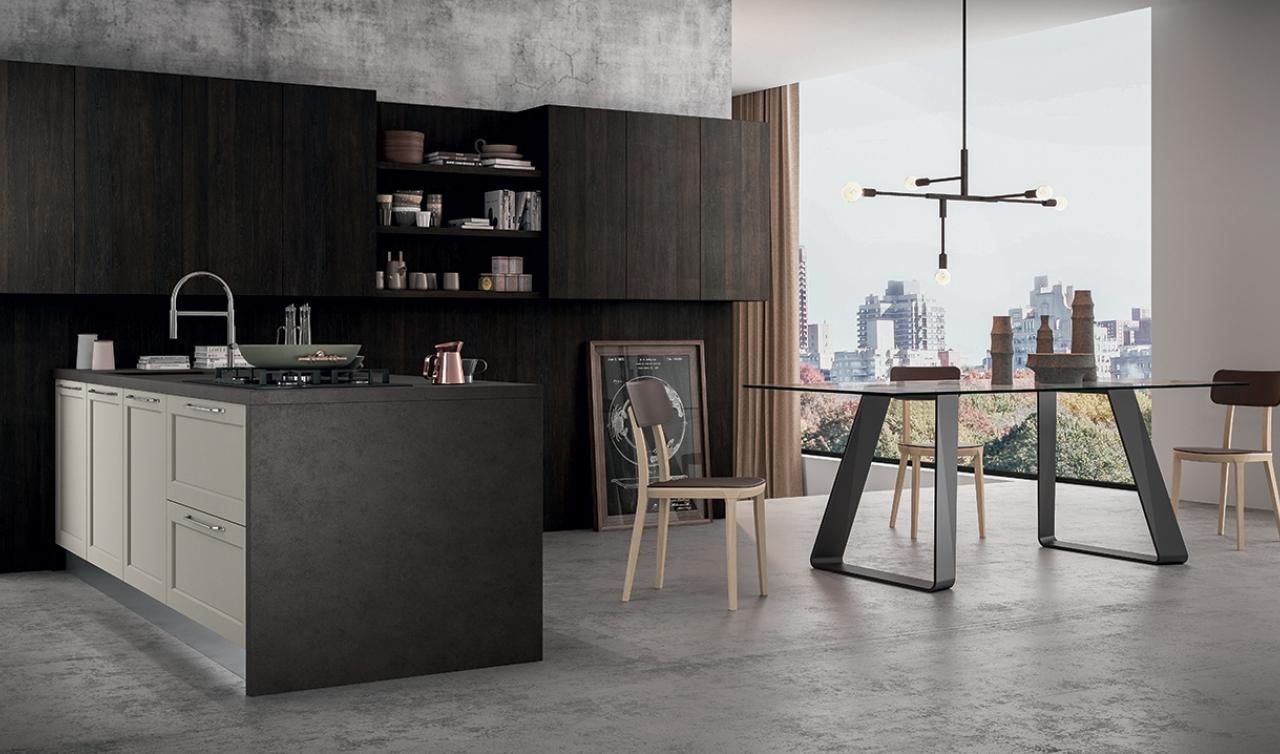 Modern Kitchen Arredo3 Frame Model 02 - 03