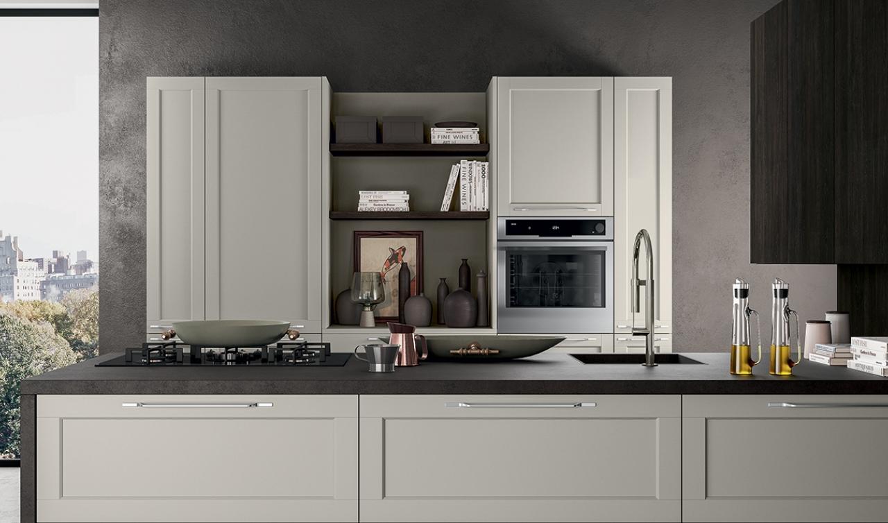 Modern Kitchen Arredo3 Frame Model 02 - 04