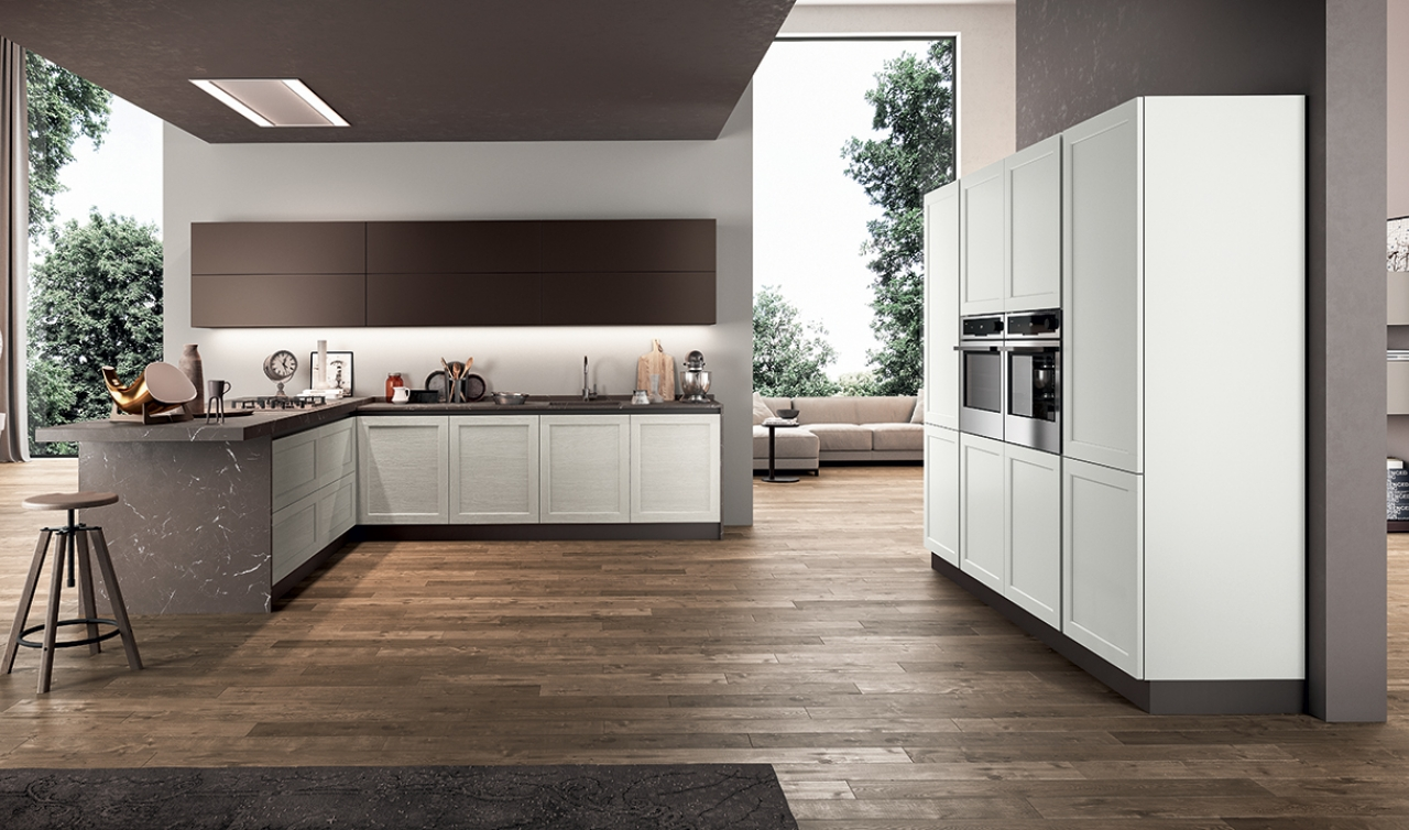 Modern Kitchen Arredo3 Frame Model 03