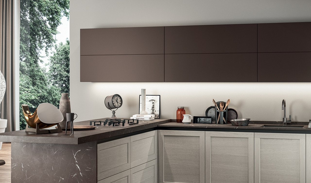 Modern Kitchen Arredo3 Frame Model 03 - 02
