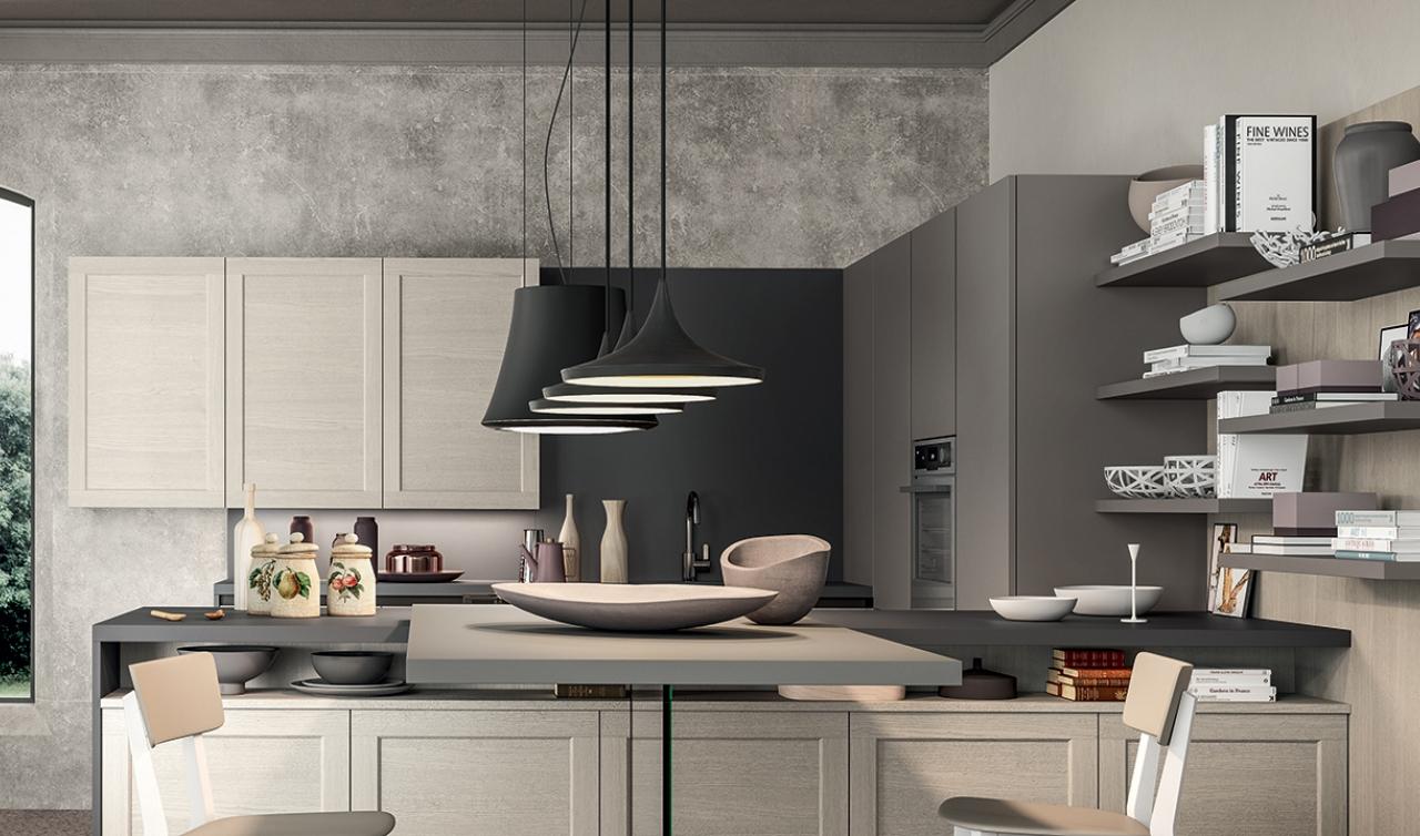 Modern Kitchen Arredo3 Frame Model 04 - 02
