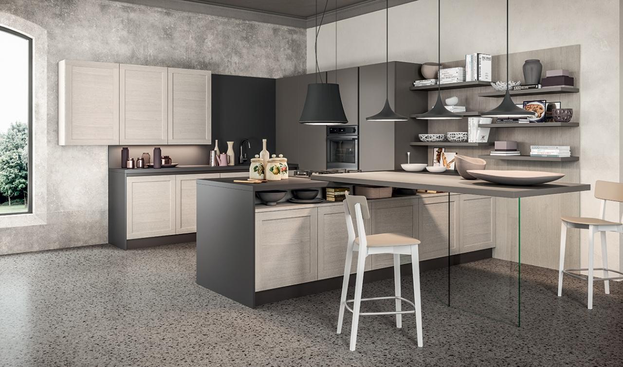 Modern Kitchen Arredo3 Frame Model 04 - 03