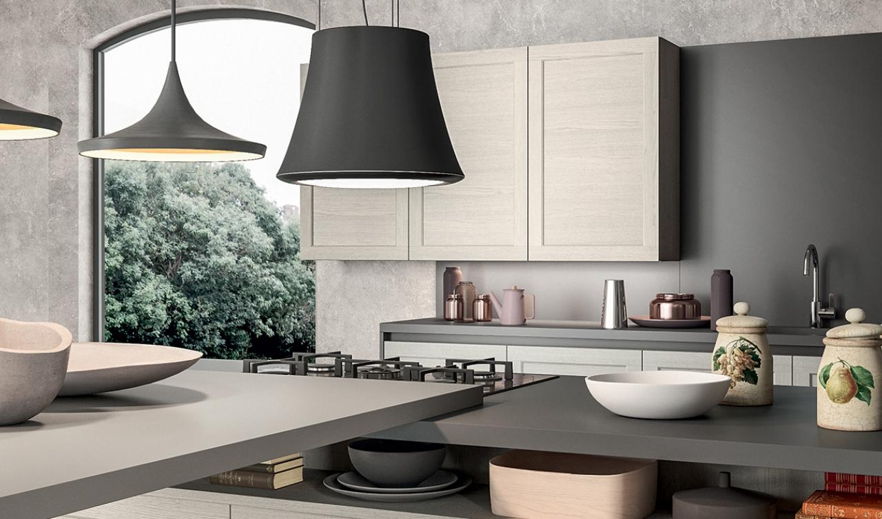 Modern Kitchen Arredo3 Frame Model 04 - 04