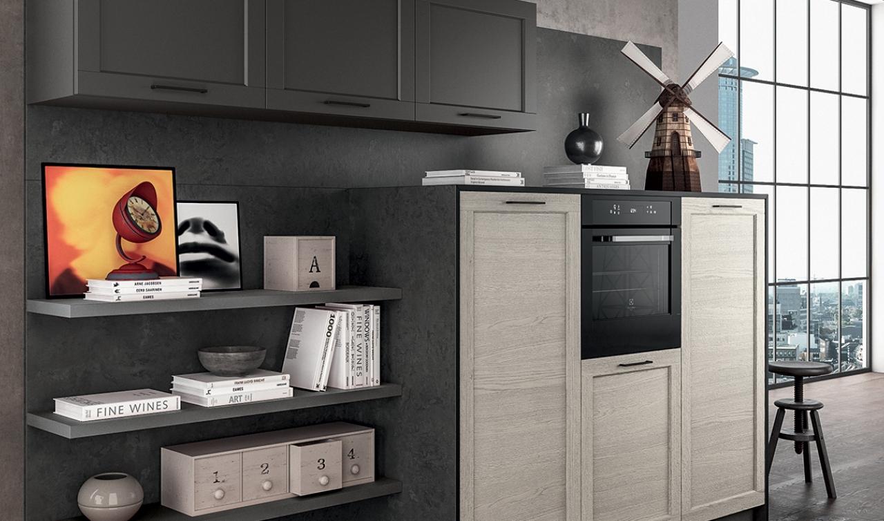 Modern Kitchen Arredo3 Frame Model 05 - 03
