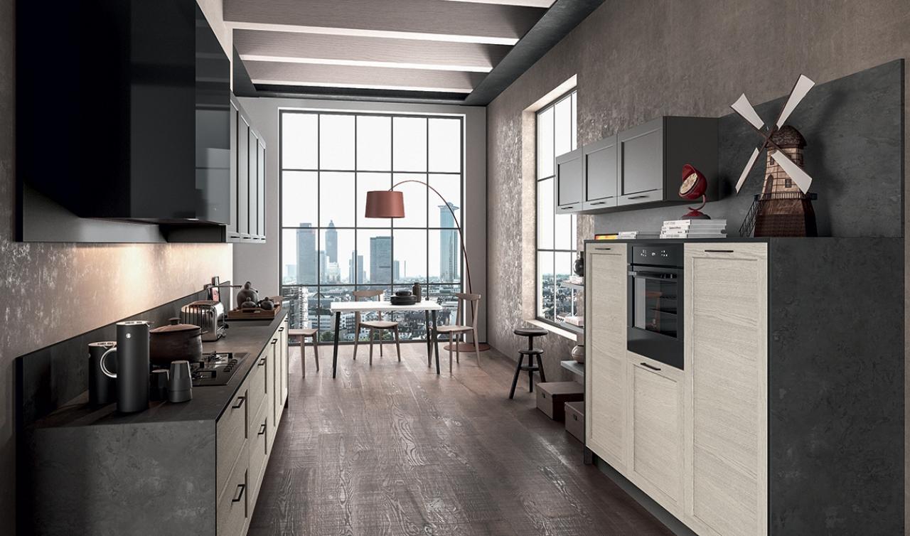 Modern Kitchen Arredo3 Frame Model 05 - 04