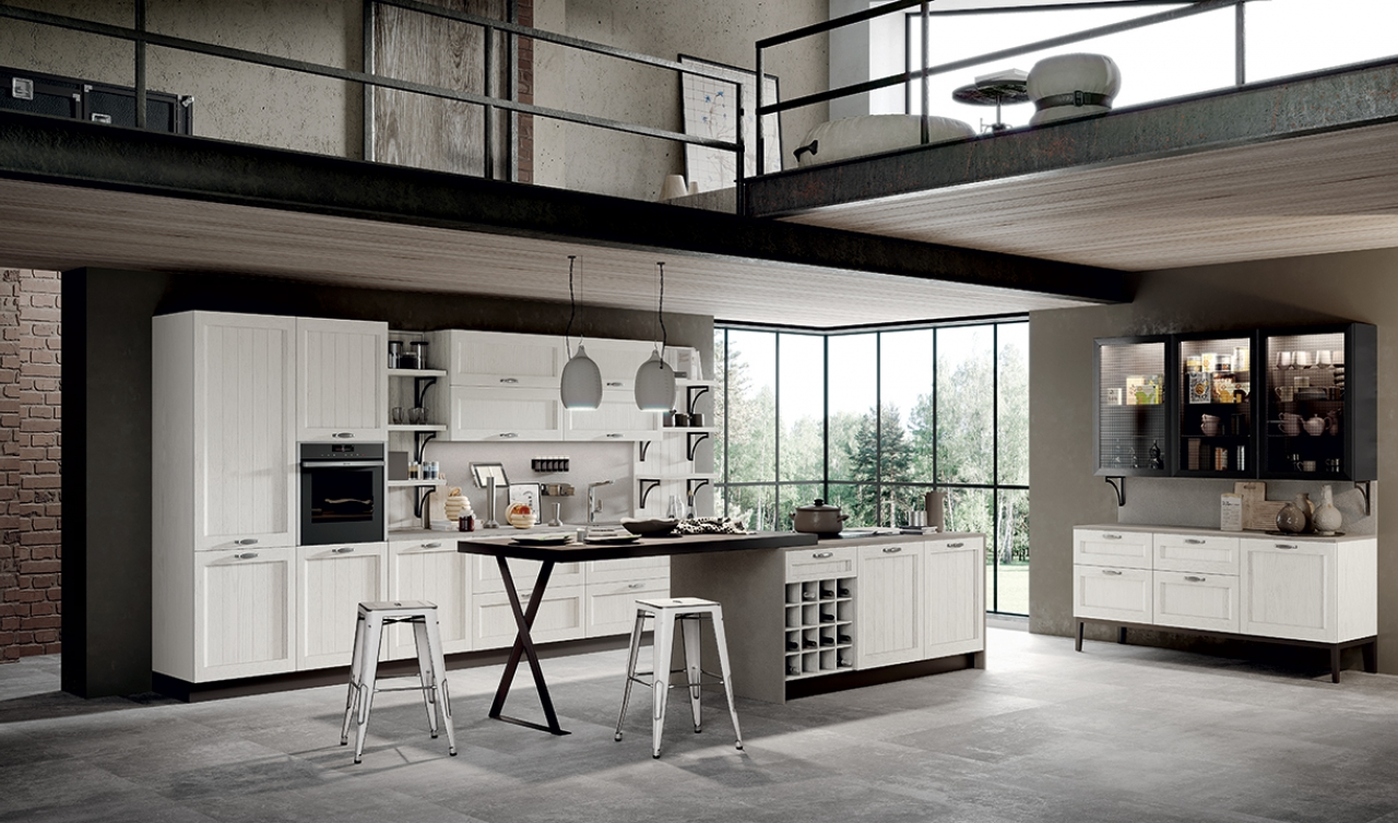 Classic Kitchen Arredo3 Frida Classic Model 03