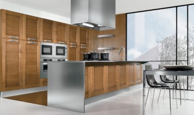 Modern Kitchen Arredo3 Giò Model 04 - 01