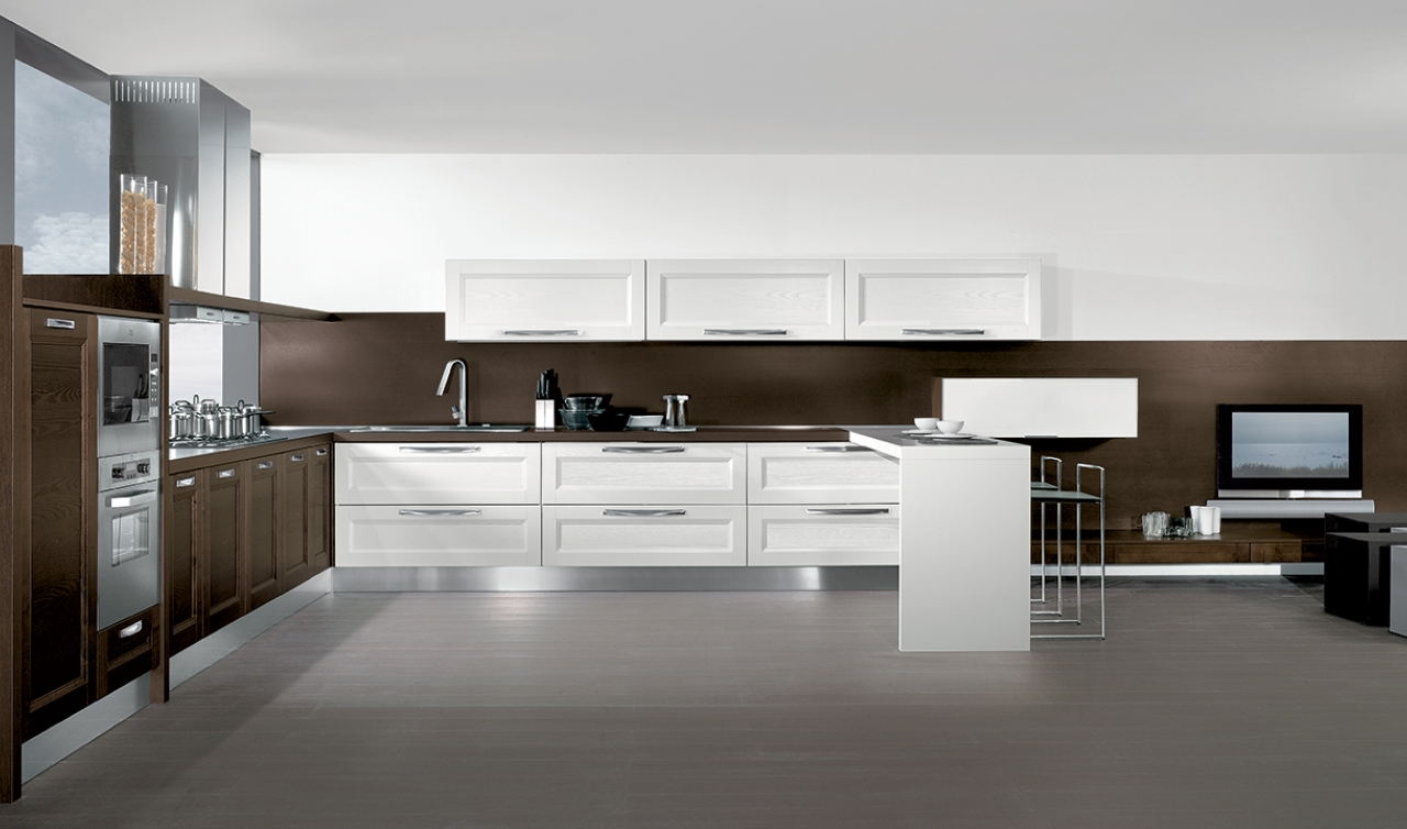 Modern Kitchen Arredo3 Giò Model 06