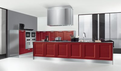 Modern Kitchen Arredo3 Giò Model 07 - 01