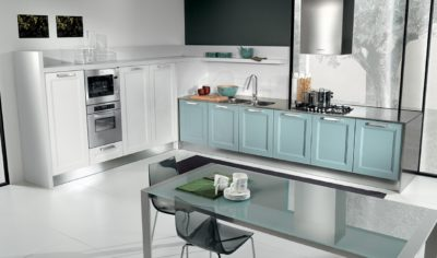 Modern Kitchen Arredo3 Giò Model 08 - 01