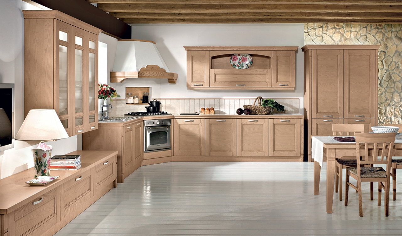 Classic Kitchen Arredo3 Gioiosa Model 02 - 03