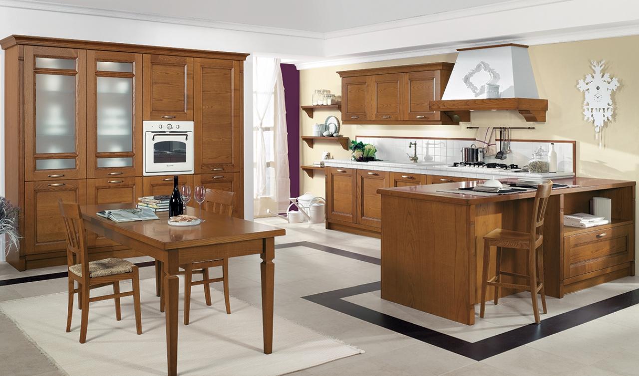 Classic Kitchen Arredo3 Gioiosa Model 04 - 02
