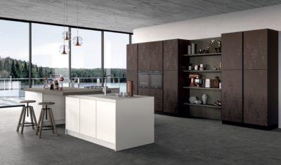 Modern Kitchen Arredo3 Glass Model 01 - 01
