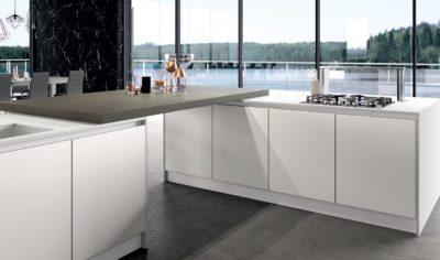 Modern Kitchen Arredo3 Glass Model 01 - 02