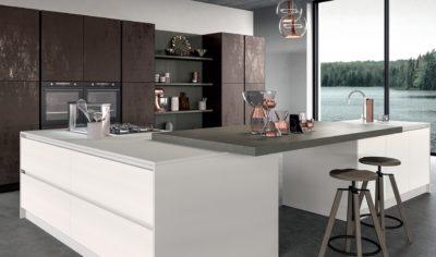 Modern Kitchen Arredo3 Glass Model 01 - 04