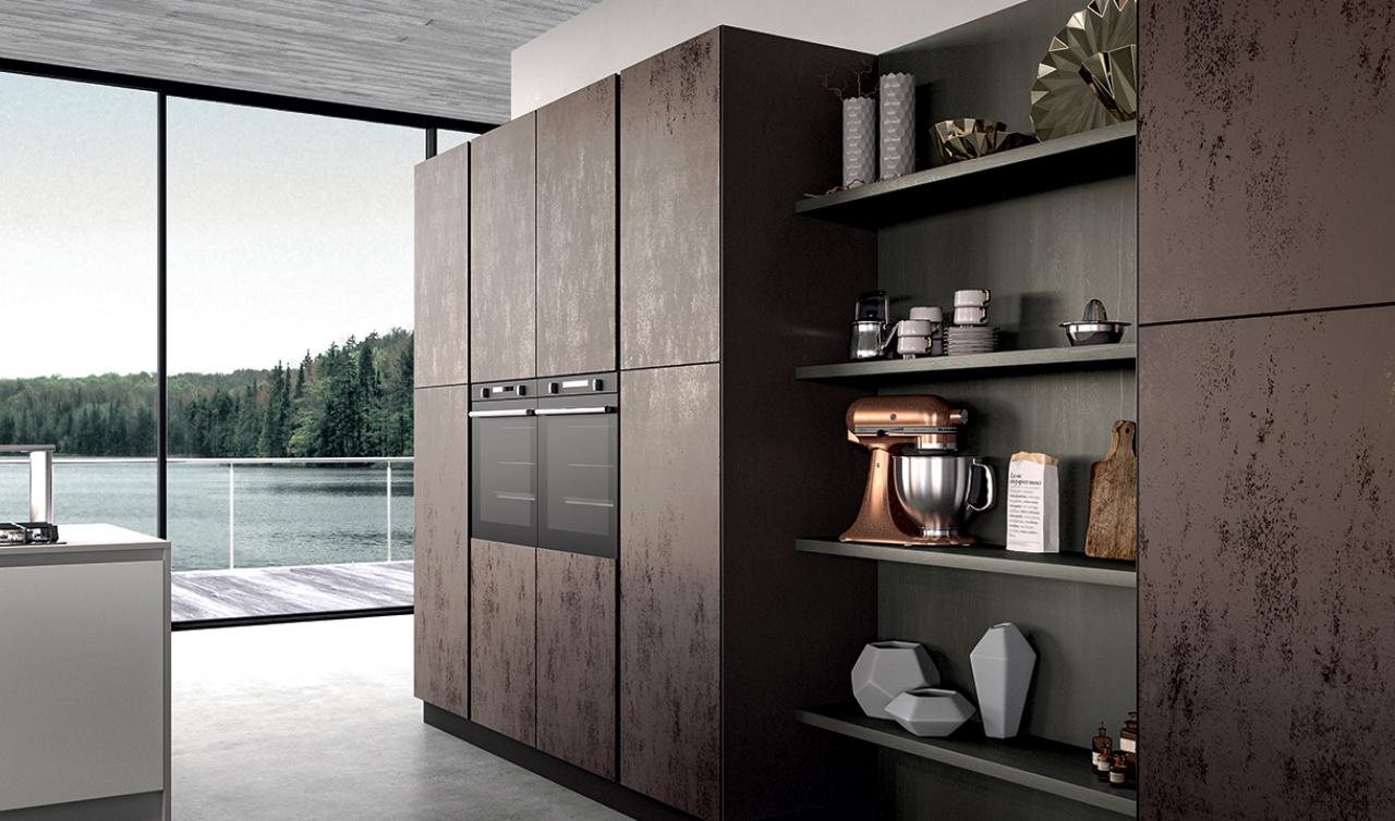Modern Kitchen Arredo3 Glass Model 01 - 05