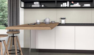 Modern Kitchen Arredo3 Glass Model 02 - 02