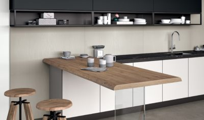 Modern Kitchen Arredo3 Glass Model 02 - 03