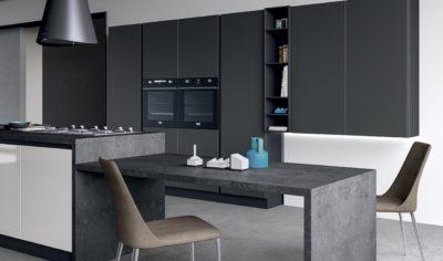 Modern Kitchen Arredo3 Glass Model 03 - 04