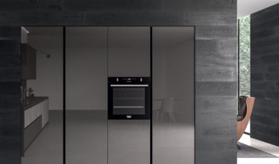 Modern Kitchen Arredo3 Glass Model 04 - 03