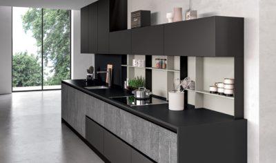 Modern Kitchen Arredo3 Glass Model 04 - 04