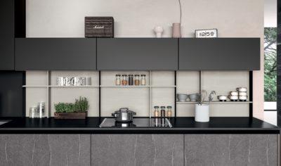 Modern Kitchen Arredo3 Glass Model 04 - 05