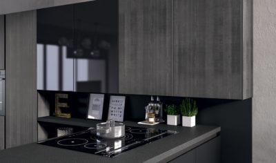 Modern Kitchen Arredo3 Glass Model 05 - 04