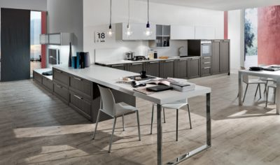 Modern Kitchen Arredo3 Itaca Model 03 - 01