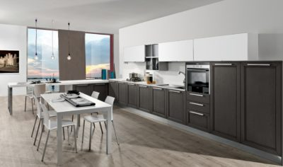 Modern Kitchen Arredo3 Itaca Model 03 - 02
