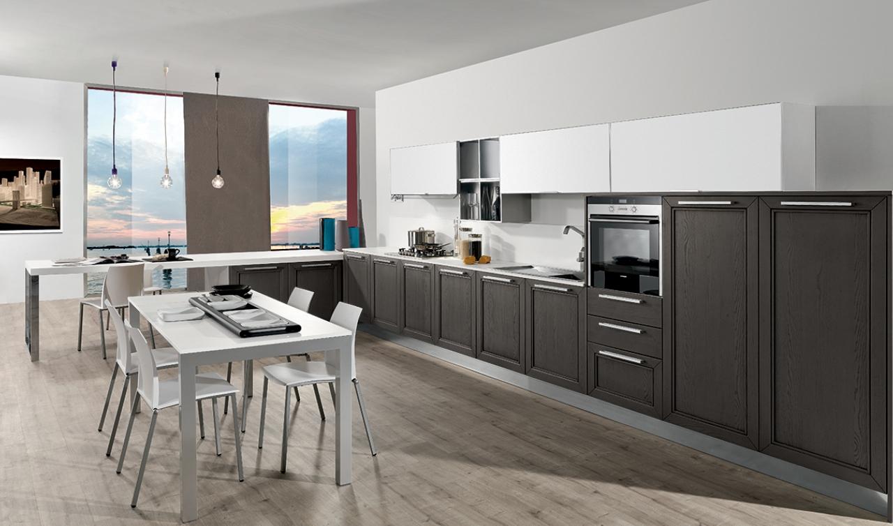 Modern Kitchen Arredo3 Itaca Model 03 - 02