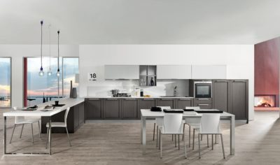 Modern Kitchen Arredo3 Itaca Model 03 - 03