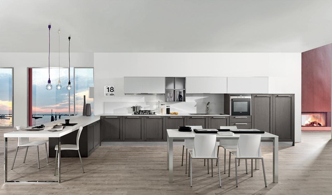 Modern Kitchen Arredo3 Itaca Model 03 - 03