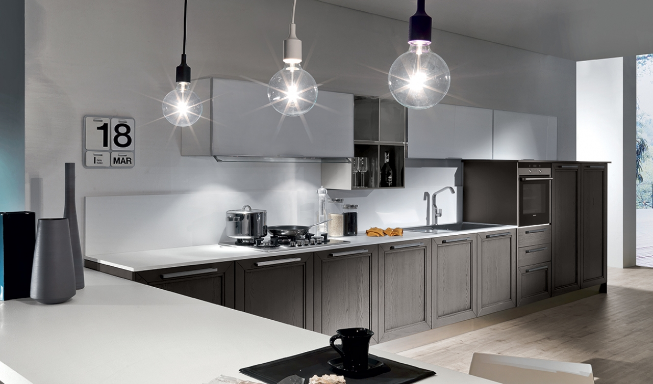 Modern Kitchen Arredo3 Itaca Model 03 - 04