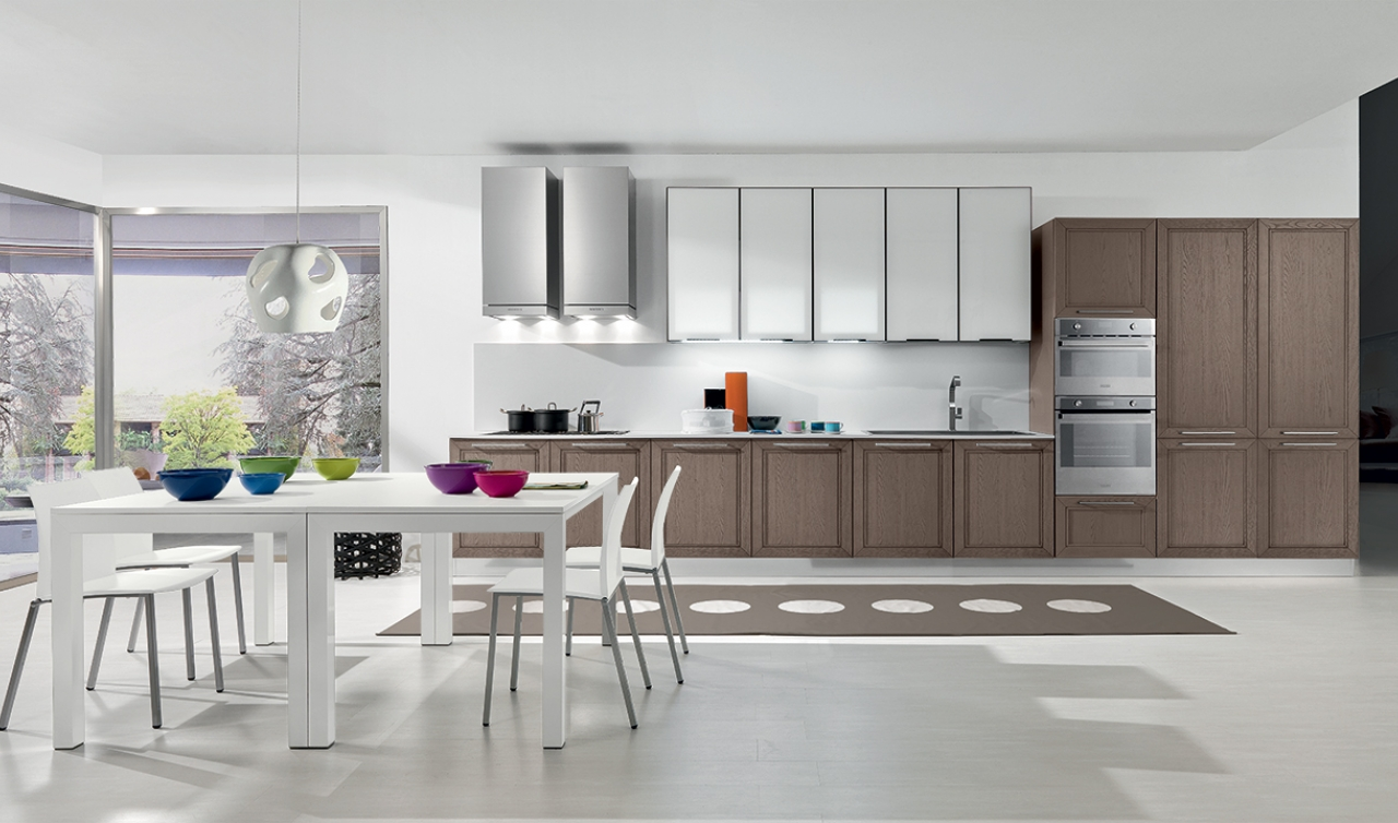 Modern Kitchen Arredo3 Itaca Model 04