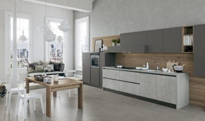 Modern Kitchen Arredo3 Time Model 05 - 01