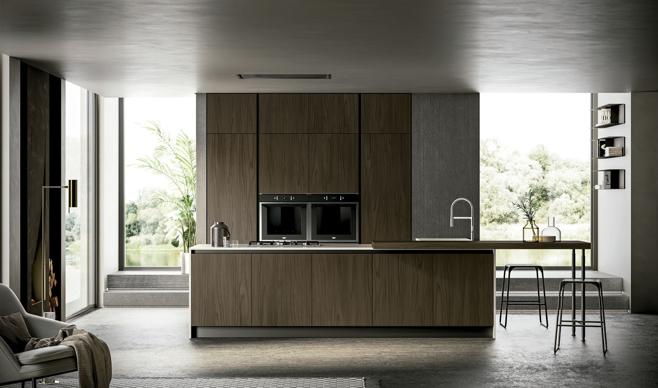 Modern Kitchen Arredo3 Kalì Model 1
