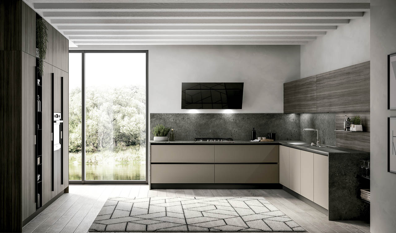 Modern Kitchen Arredo3 Kali Model 10