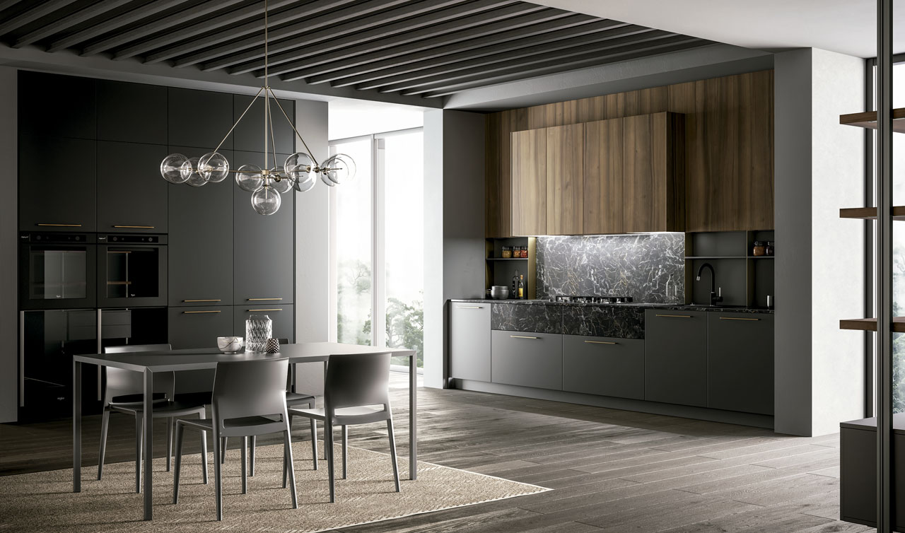 Modern Kitchen Arredo3 Kalì Model 2
