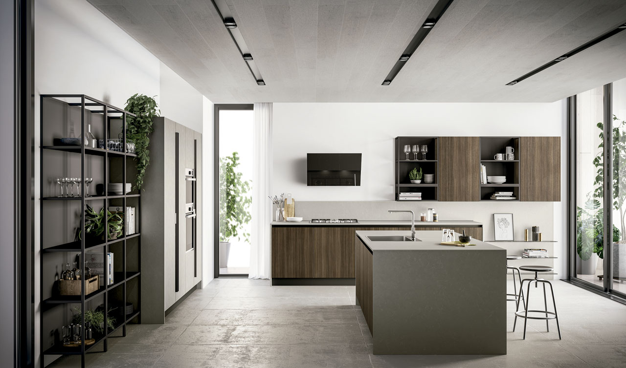 Modern Kitchen Arredo3 Kali Model 4
