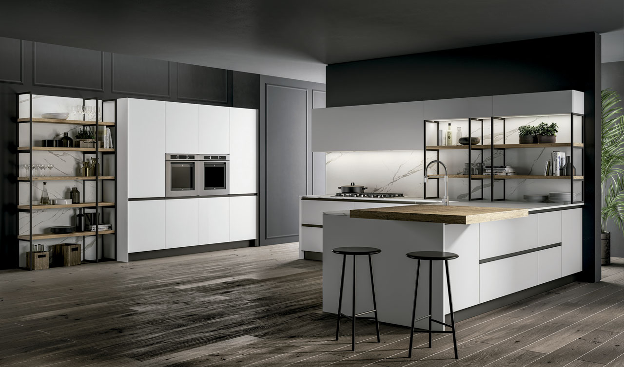 Modern Kitchen Arredo3 Kalì Model 5