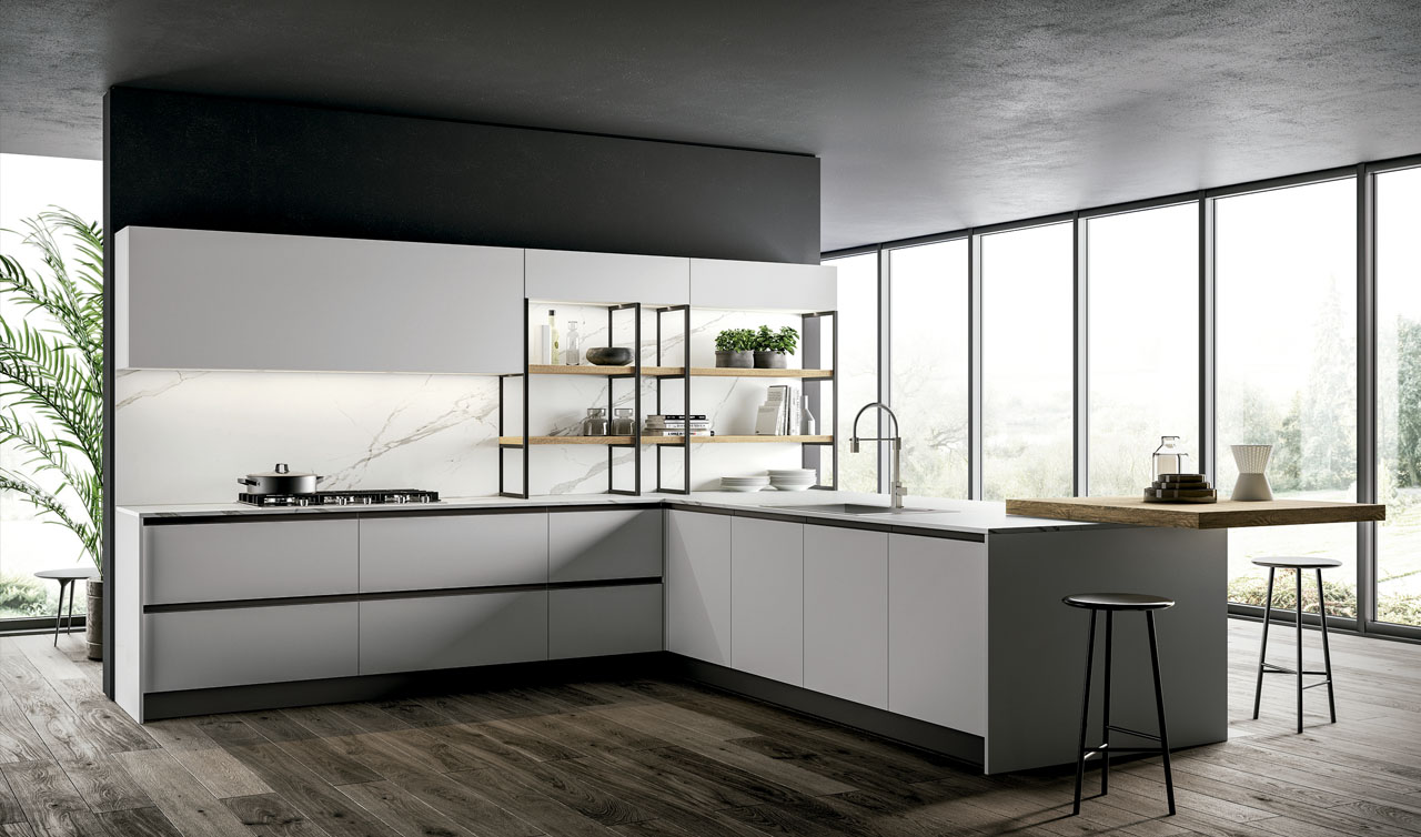 Modern Kitchen Arredo3 Kali Model 5