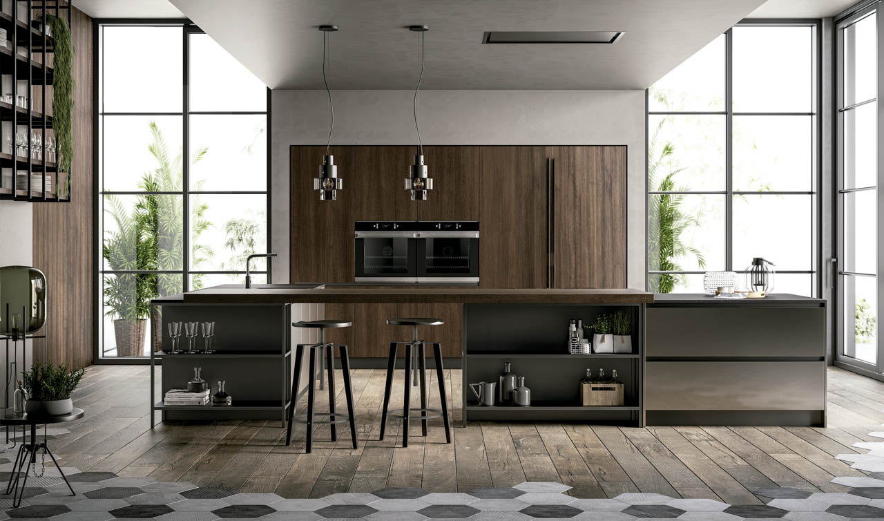 Modern Kitchen Arredo3 Kali Model 6
