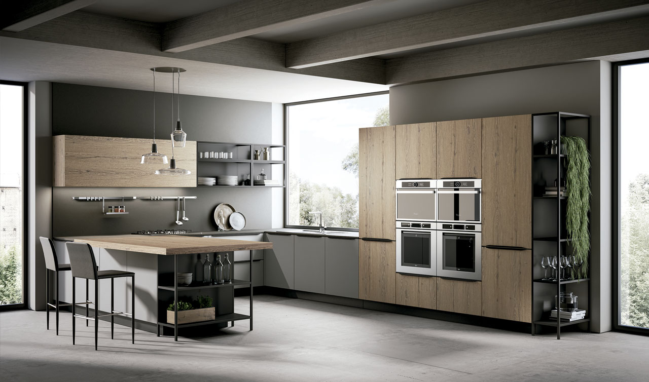 Modern Kitchen Arredo3 Kali Model 7