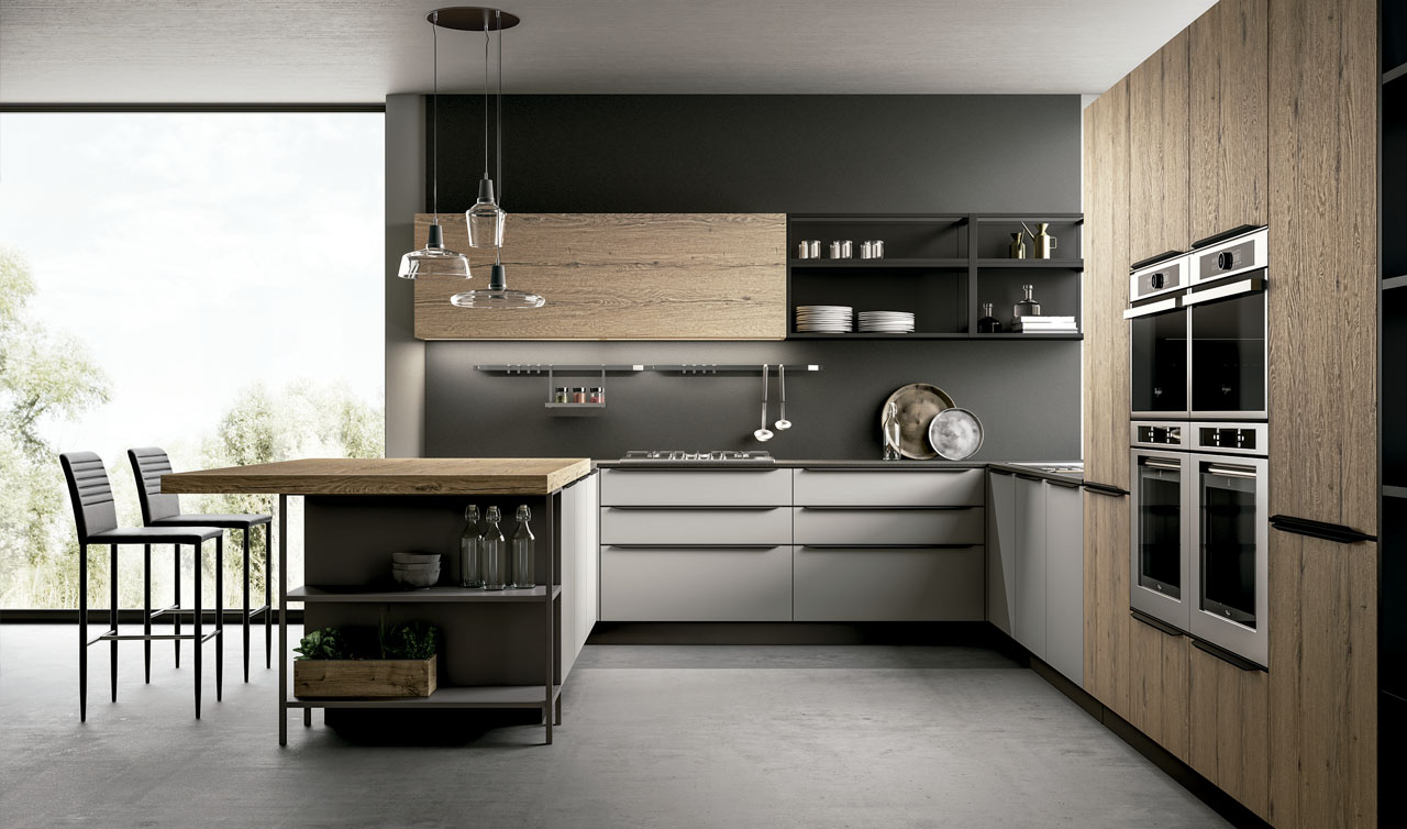 Modern Kitchen Arredo3 Kali Model 7